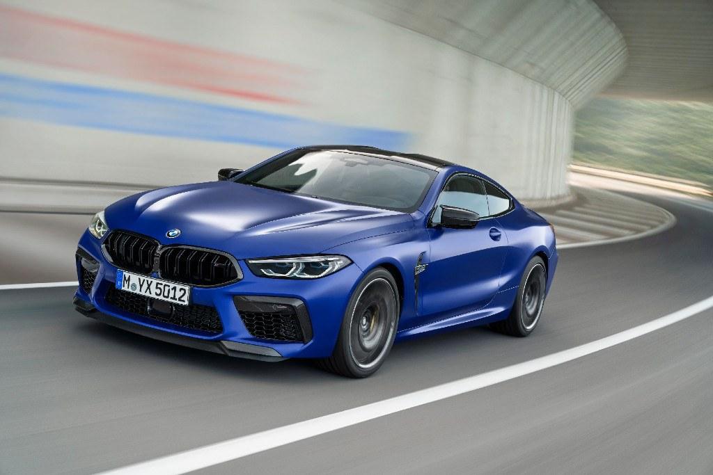 El nuevo BMW M8 Competition Package en movimiento [vídeos]