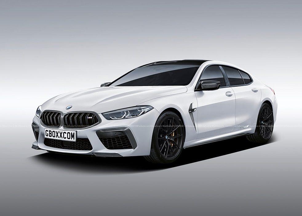 El futuro BMW M8 Gran Coupé se insinúa en estas primeras recreaciones