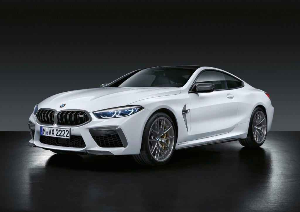 El nuevo BMW M8 estrena accesorios M Performance de carbono