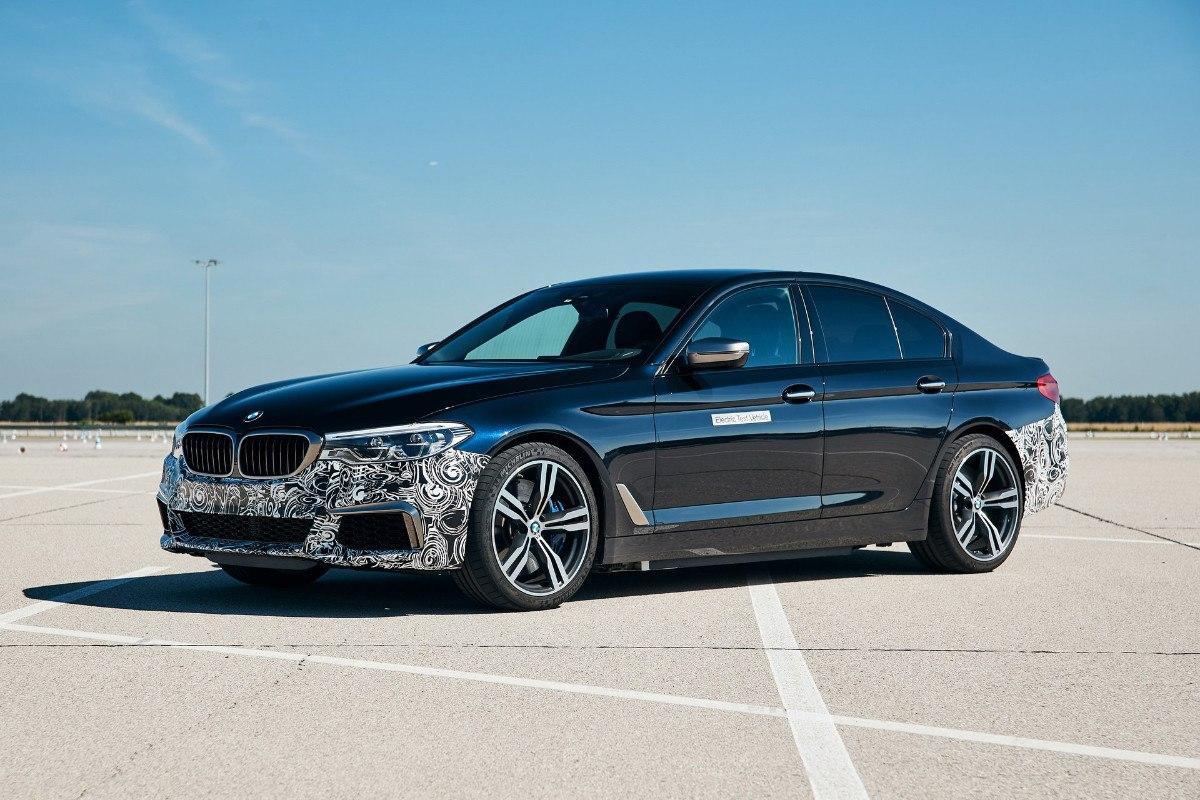 El BMW Power BEV es un discreto y brutal Serie 5 eléctrico de 720 CV