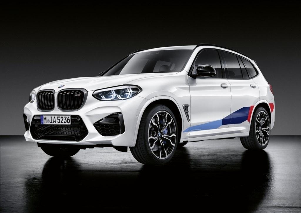 BMW aumenta la deportividad de los X3 M y X4 M con la gama de accesorios M Performance
