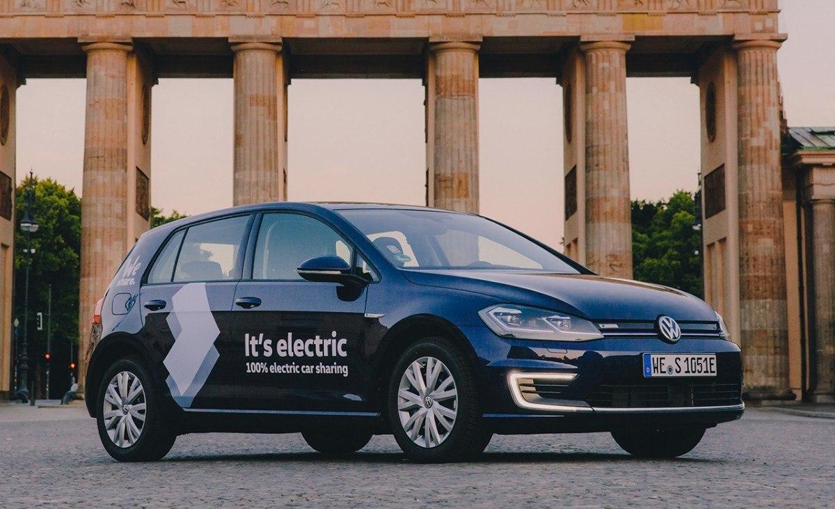 El car sharing de Volkswagen ya está operando en Berlín