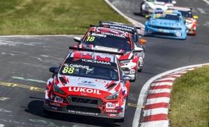 Catsburg, Tarquini y Ma, sancionados en Nürburgring