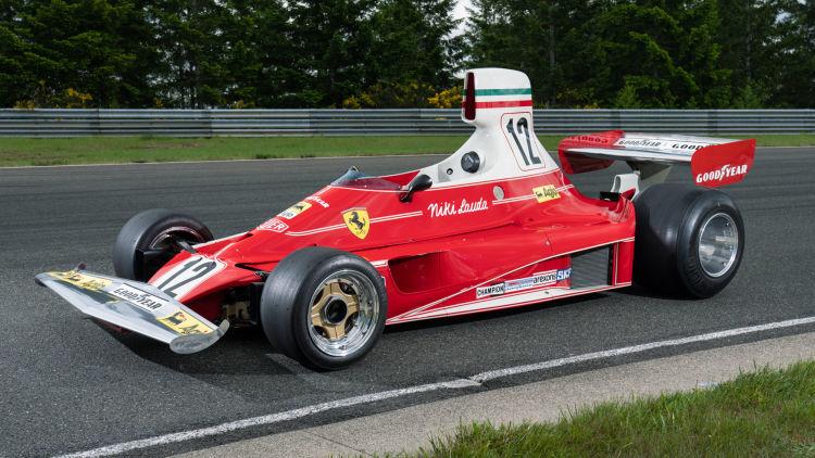 A subasta el Ferrari 312T campeón de Niki Lauda