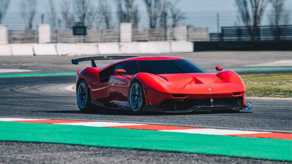 El brutal Ferrari P80/C a fondo en Monza en su primer vídeo