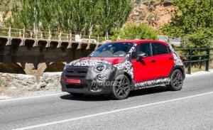 El nuevo Fiat 500X Sport cazado a plena luz del día durante su desarrollo