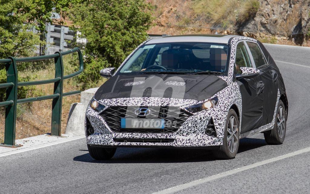 Primeras fotos espía del nuevo Hyundai i10, el utilitario estrenará imagen en 2020