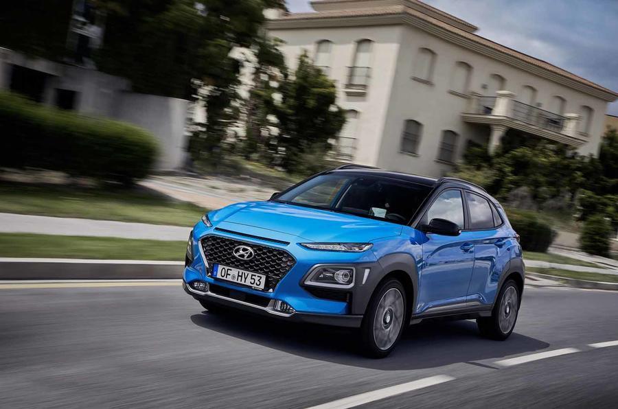 El nuevo Hyundai Kona Hybrid presentado con la mecánica del Kia Niro