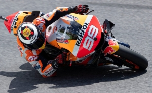 Jorge Lorenzo se fractura la sexta vértebra dorsal en Assen