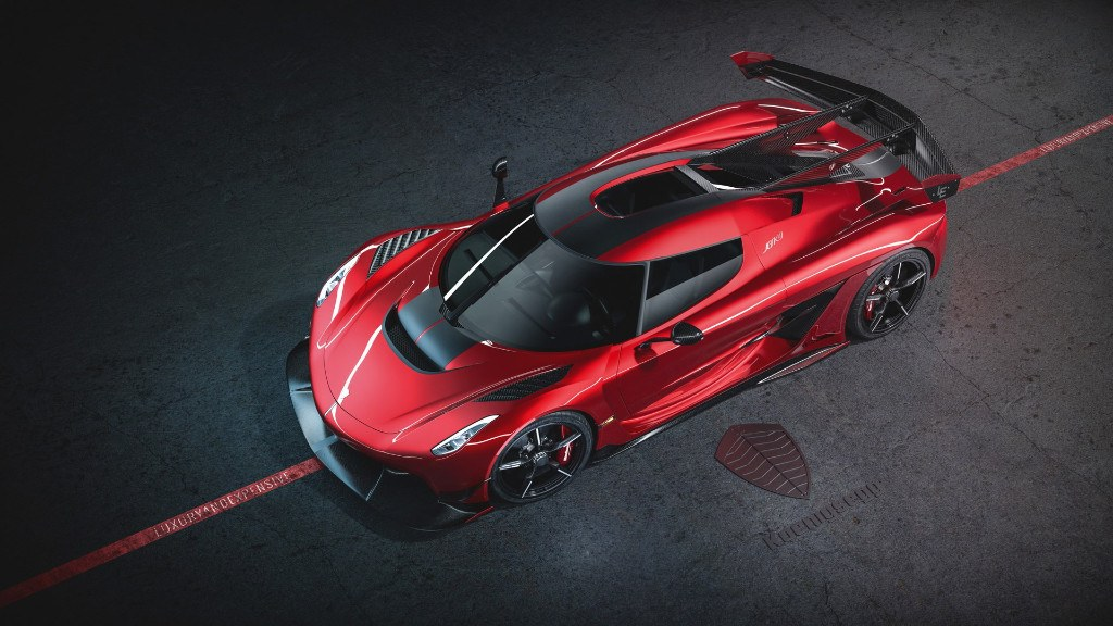 Nuevo Koenigsegg Jesko Cherry Red Edition 10