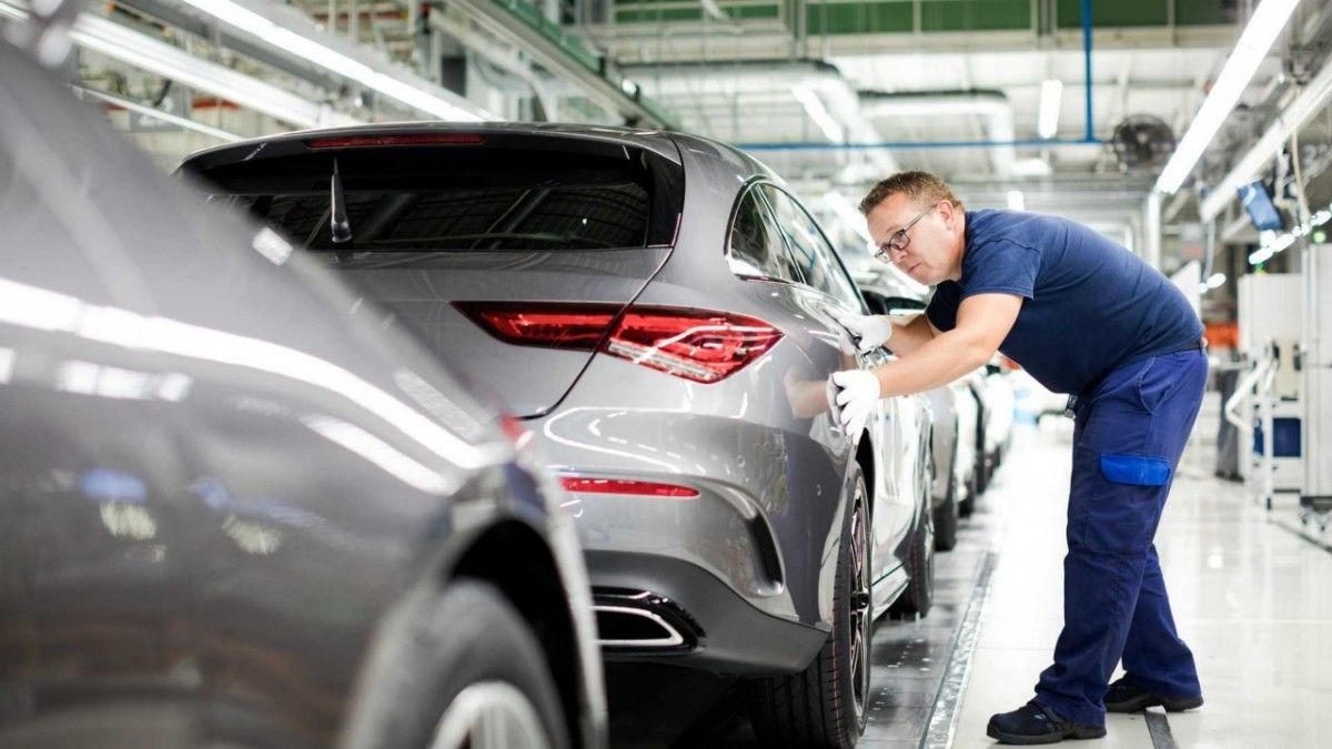 La nueva generación del Mercedes CLA Shooting Brake entra en producción