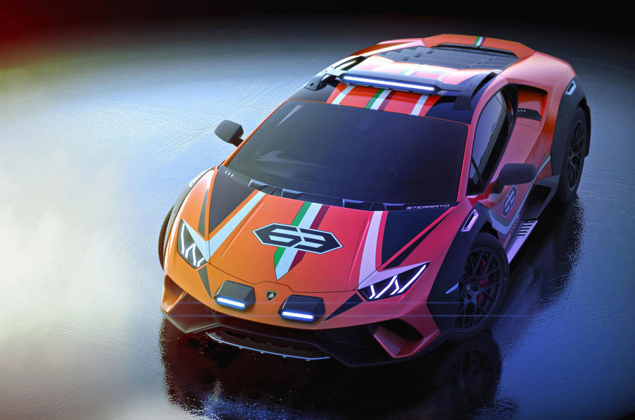 El Lamborghini Huracán Sterrato está cada vez más cerca de producción