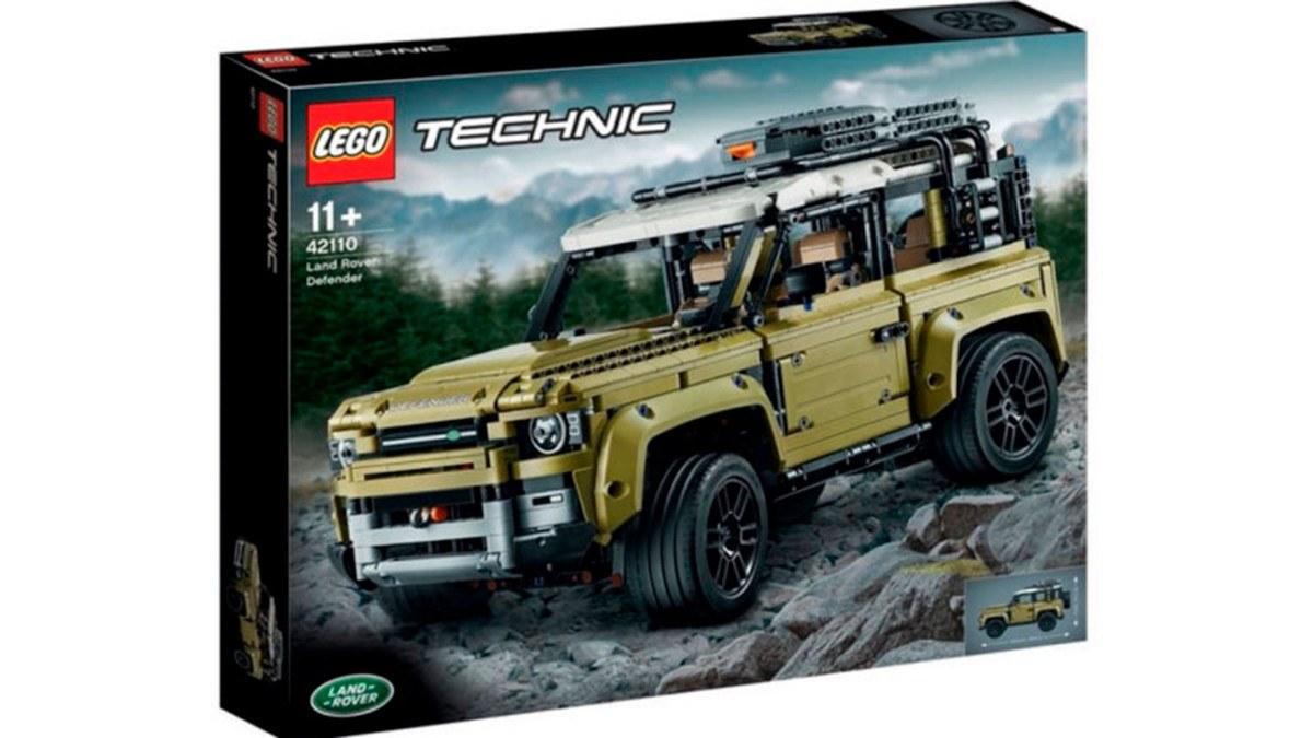 90 Juguete Land Defender Filtrado Un Nuevo De Lego Por Rover El OPkw8n0
