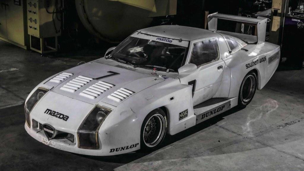 Descubierto un Mazda RX7 de Le Mans desaparecido hace 35 años