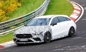 Mercedes-AMG prueba los nuevos CLA 35 y CLA 45 Shooting Brake en Nürburgring