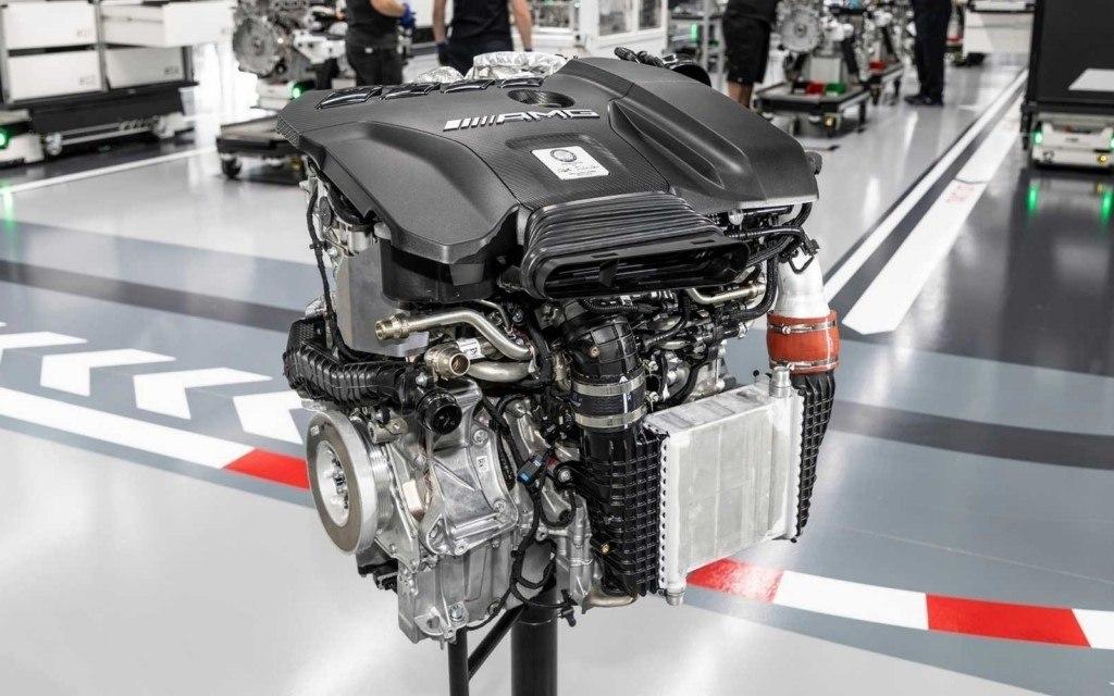 Mercedes desvela el motor de cuatro cilindros M 139 de los nuevos AMG 45, el más potente del mundo