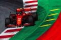 Cara y cruz para Ferrari: pole para Leclerc y fallo neumático para Vettel