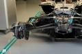 La suspensión de un Fórmula 1