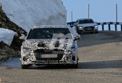 Prototipos de la cuarta generación del Audi A3 se trasladan a las carreteras de los Alpes