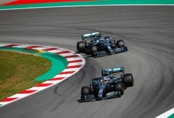 """Bottas y su duelo con Hamilton: """"Tengo que mejorar aún más mi ritmo de carrera"""""""