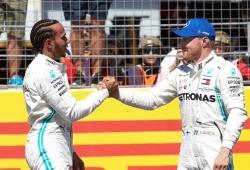 """Bottas, incapaz de cortar la racha de Hamilton: """"Lo hizo mejor y tuvo más suerte"""""""