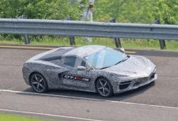El nuevo Chevrolet Corvette C8 cazado en la pista de pruebas de Milford