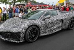 Los prototipos del nuevo Chevrolet Corvette C8 en detalle más cerca que nunca