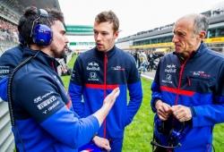 Franz Tost no vería como un fracaso que Kvyat volviera a Red Bull