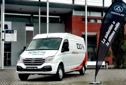 Las furgonetas eléctricas de Maxus ya están a la venta en España