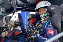 Gabriele Tarquini prueba el Hyundai i20 WRC Coupé