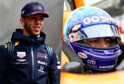 Gasly compara su situación en Red Bull con la de Alonso en la Indy 500