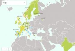 Greenpeace nos presenta el 'mapa del fin de los coches diésel y gasolina'