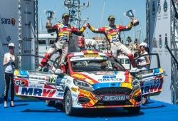 Jan Solans lidera el Junior WRC con su victoria en Italia