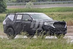 La próxima generación del Jeep Grand Cherokee se deja ver por primera vez