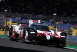 Kobayashi lidera los libres de Le Mans con el Toyota #7