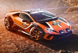 Lamborghini presenta el espectacular Huracán Sterrato concept off-road