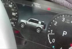 Filtrada la primera imagen del nuevo Land Rover Defender 110 al desnudo