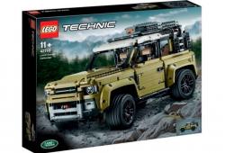 El nuevo Land Rover Defender 90 filtrado por un juguete de Lego