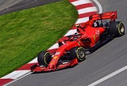Leclerc y Vettel dominan y Hamilton acaba contra el muro