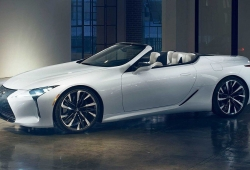 El nuevo Lexus LC Convertible definitivo será presentado en Goodwood