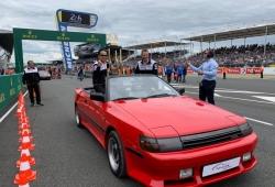 Lo mejor de Le Mans: el Toyota Celica Cabrio tuneado que dio el paseo inicial