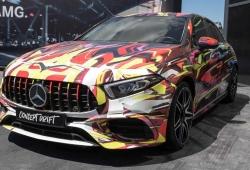 El nuevo Mercedes-AMG A 45 ha sido expuesto durante las 24 Horas de Nürburgring