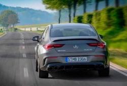 Los prototipos del nuevo Mercedes-AMG CLA 45 en movimiento