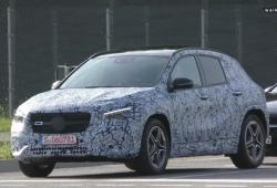 Los prototipos del nuevo Mercedes Clase GLA con más detalle