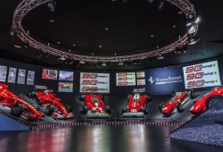 Espectacular exposición en el Museo Ferrari por el 90° aniversario de la Scuderia