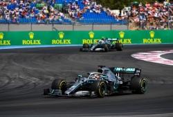 """Nuevo paseo de Hamilton y 36 puntos sobre Bottas: """"Estoy orgulloso de este equipo"""""""