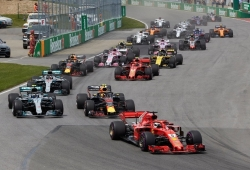 Con dos pilotos sancionados, así queda la parrilla del GP de Canadá