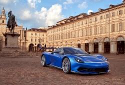 El Pininfarina Battista se presenta ligeramente rediseñado en el Salón de Turín