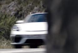 El nuevo Porsche 718 Boxster Spyder será presentado en breve