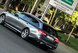 Precio del Mercedes E 300 de Estate, un coche familiar híbrido enchufable